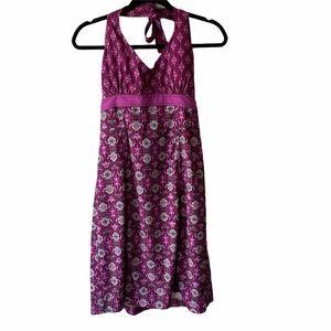 Athleta Pack Anywhere Dress Purple 6